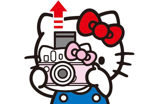 instax mini HELLO KITTY,富士instax mini HELLO KITTY相机,凯蒂猫相机